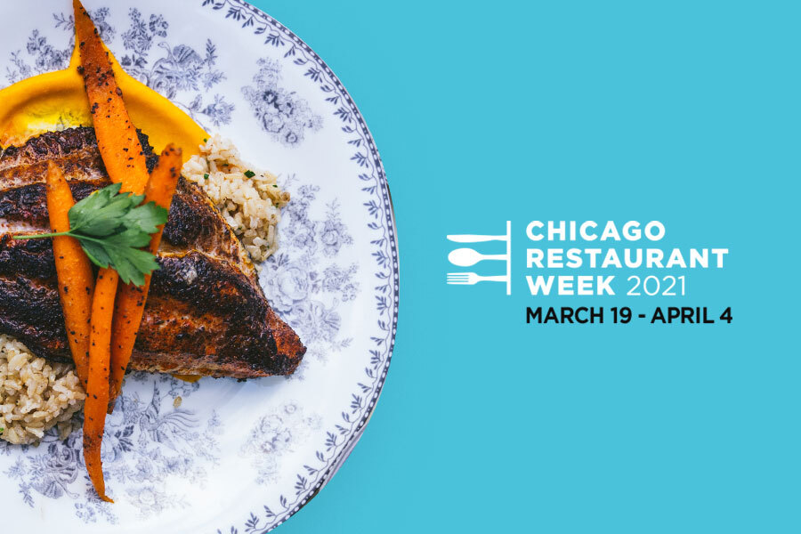 Dine in. Take out. It's Chicago Restaurant Week.